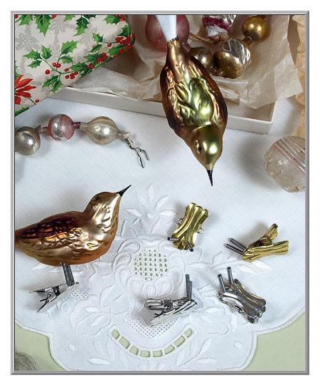 Bird Ornaments For Christmas Tree