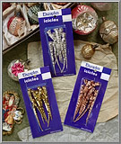 Spiral Tinsel Icicles sets