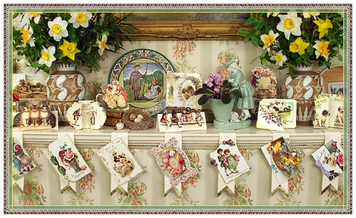 Easter Shop Victorian English Greeting Cards Boxed Set D Blumchen – Boxed Easter Cards
