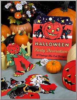 halloween shop vintage halloween party die cut decorations d blumchen