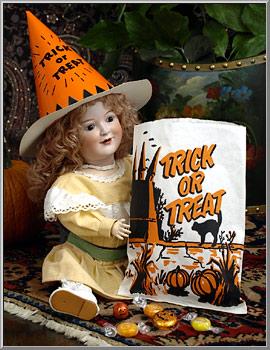 Halloween Shop Vintage Trick Or Treat Goody Bags