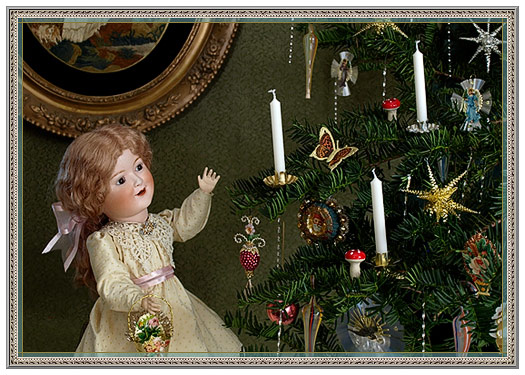 Old-Fashioned Christmas Tree Candles - Christmas Shop: Christmas Tree Candles, German Candle Clips - D
