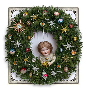 Christmas Shop: Lametta Tinsel Icicles and Star Ornaments - D ...