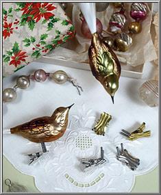 Craft Shop Bird Leg Ornament Clips Christmas Ornament