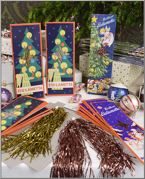 Christmas Tree Icicles Tinsel.Friday S Find Lametta Tinsel Tree Icicles From Germany And